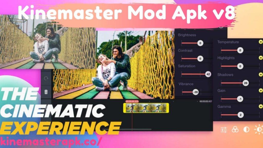 Image of Kinemaster Mod V8 For Free
